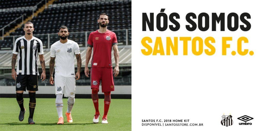 839fe24160b5e Loja oficial divulga imagem de novos uniformes do Santos – Diário do Peixe