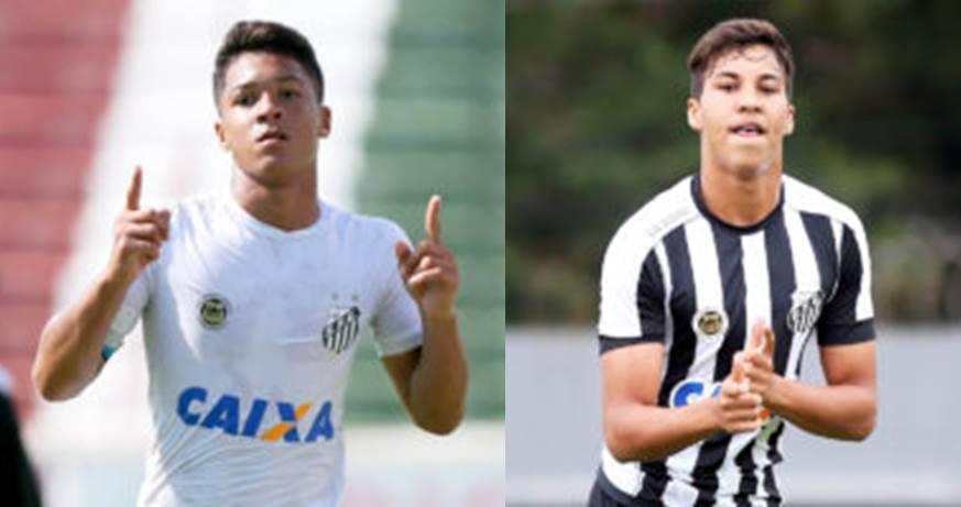 Sem 9 no profissional, Santos tem goleadores em destaque na base