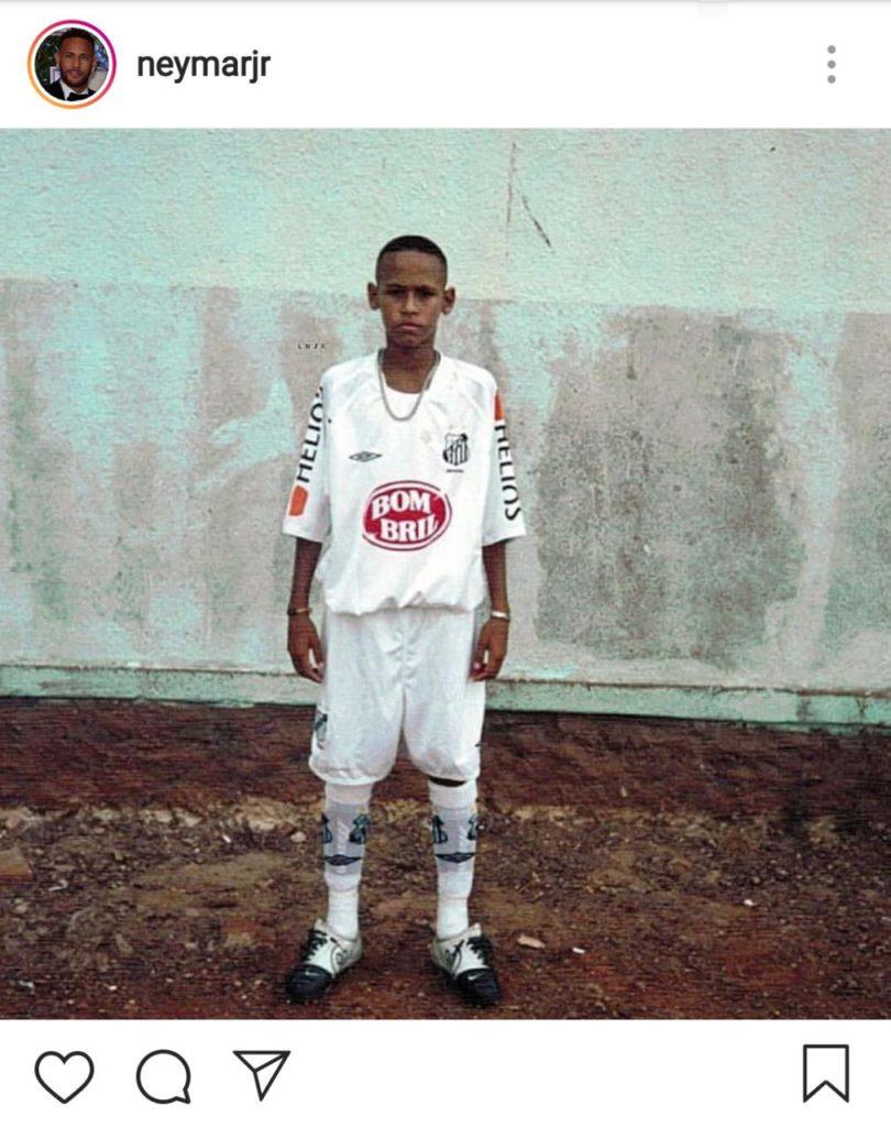 Reconciliação? Neymar posta foto com o manto do Peixe