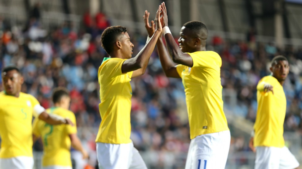 Rodrygo marca em empate da Seleção Sub-20 contra o Chile