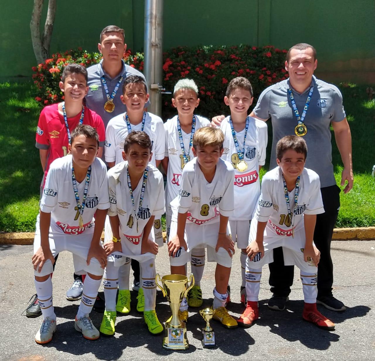 Santos sub-11 conquista Copa BR de Futsal