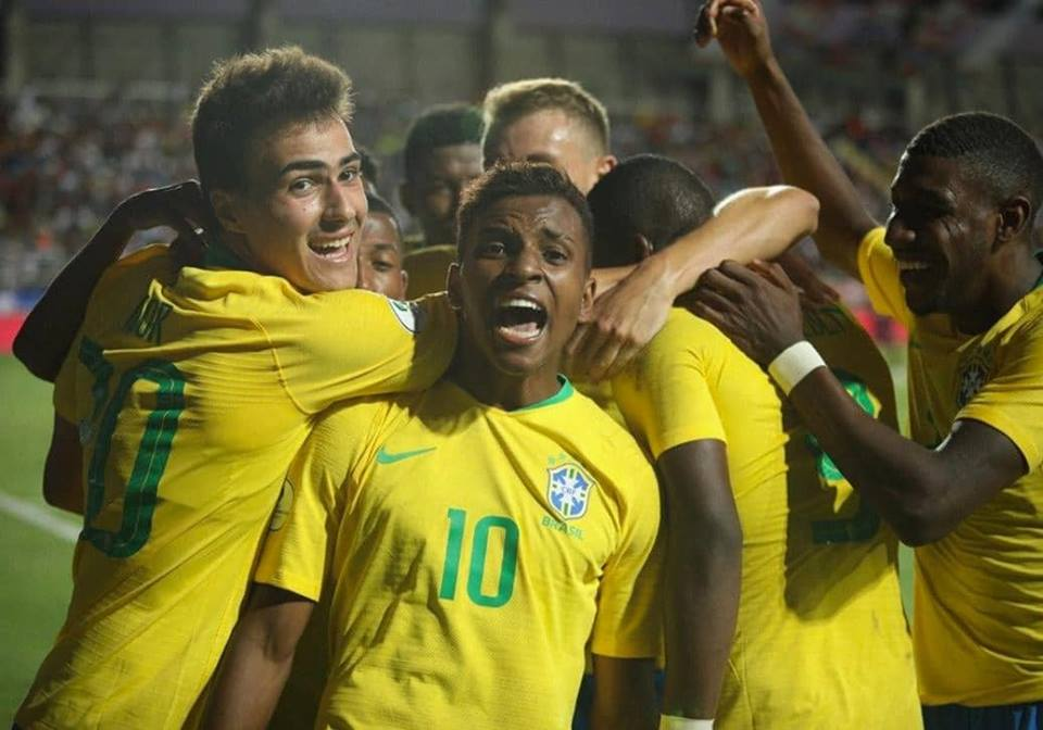Rodrygo brilha em vitória da Seleção Sub-20 no Sul-Americano