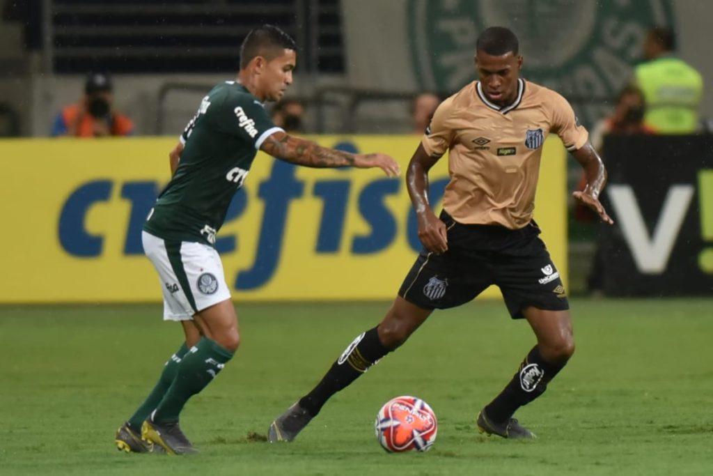 Em jogo truncado, Santos empata sem gols com o Palmeiras