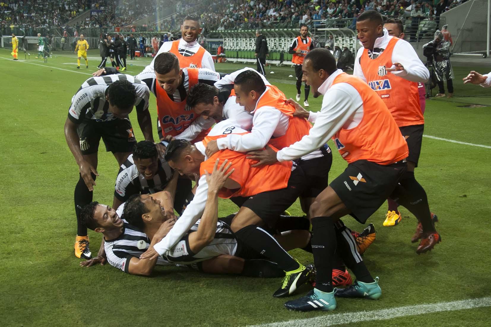 Santos tenta melhorar histórico contra Palmeiras no Allianz Parque