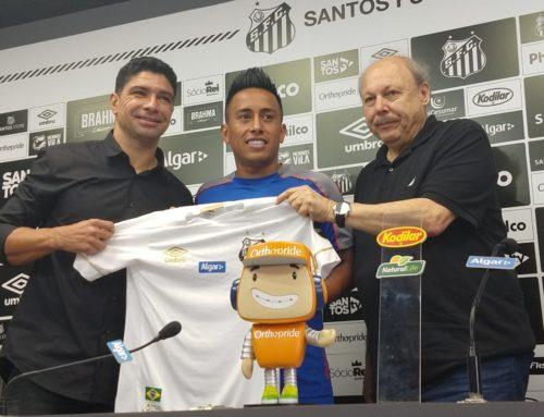 Santos alega não ter dívidas com Cueva