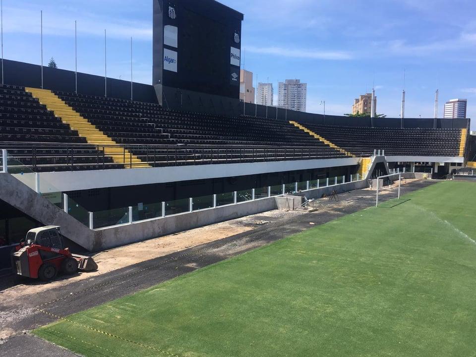 Santos planeja Vila para 11 de abril. Veja novas fotos vazadas