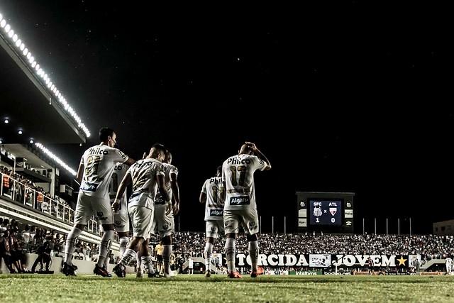 Santos lucrou R$ 321 mil contra Atlético-GO e Vasco na Vila