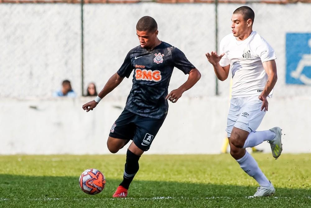 No Paulista Sub-20, Santos empata clássico com o Corinthians