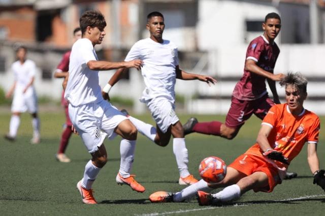 Santos só empata com o Sertãozinho no Paulista Sub-17