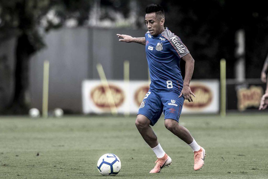 Cueva critica Sampaoli e fala em voltar a jogar no Santos