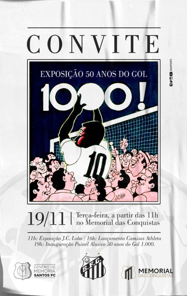 Santos terá programação especial em comemoração ao milésimo gol de Pelé