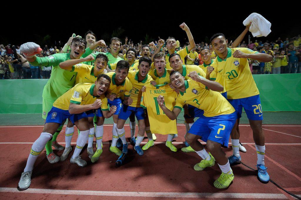 Santistas participam de vitória do Brasil sobre Itália no Mundial Sub-17