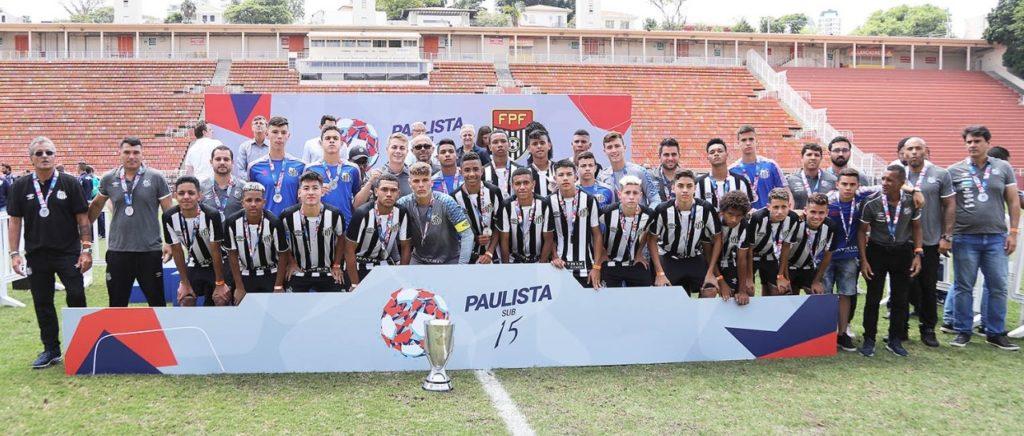 Sub-15: Santos perde para o Palmeiras e é vice Paulista