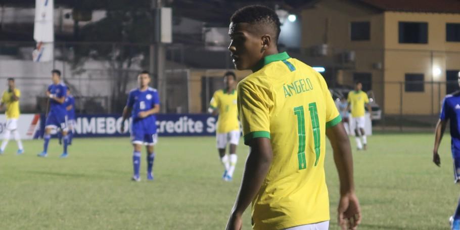 Santistas estão na final do Sul-Americano Sub-15 com a Seleção
