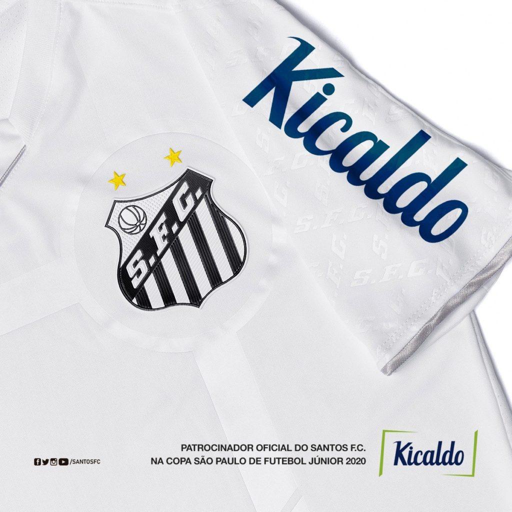 Santos estende patrocínio para equipe de base na Copinha