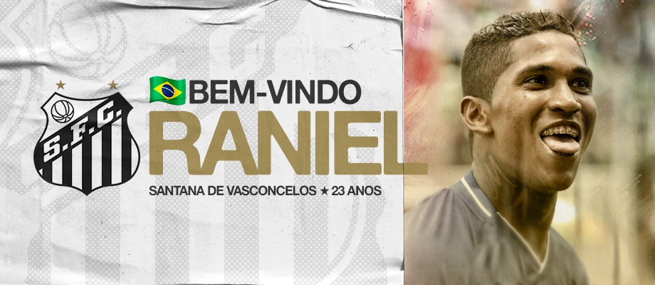 """Raniel agradece ao Santos: """"Farei o possível e o impossível"""""""