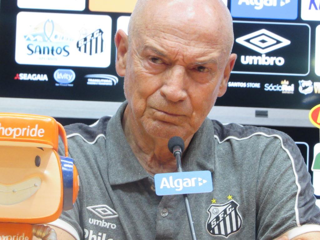 """Jesualdo: """"Segundo tempo é o que eu pretendo para o futuro do Santos"""""""