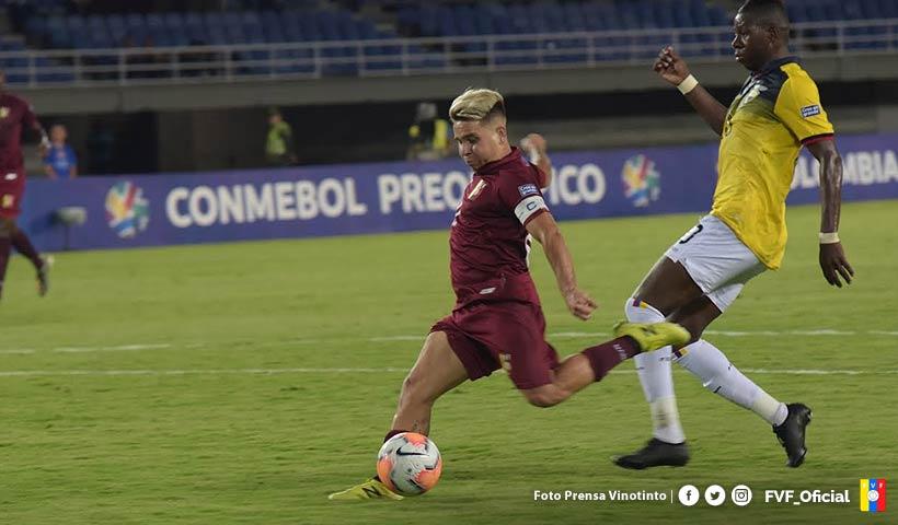Soteldo faz o gol da vitória da Venezuela no torneio Pré-olímpico