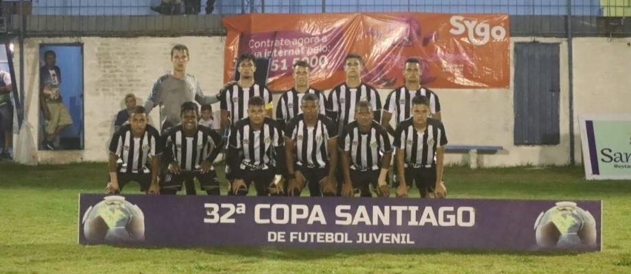 Santos perde jogo, mas conquista vaga na Copa Santiago Sub-17