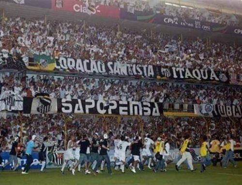 Onde foi parar a torcida do Santos?
