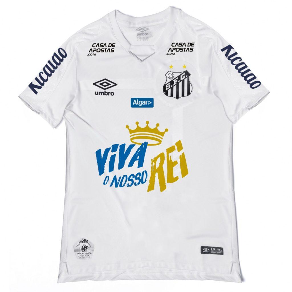 Santos recusa pontuais e jogará com camisa em homenagem ao Rei Pelé