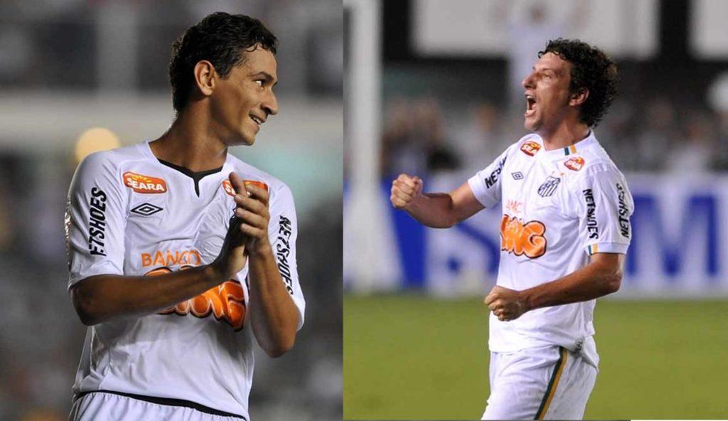 Elano e Ganso são eleitos os melhores meias do Santos no Século XXI