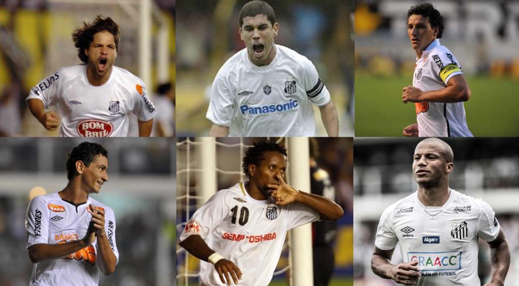 Quais os melhores meias do Santos no Século XXI? Vote na enquete
