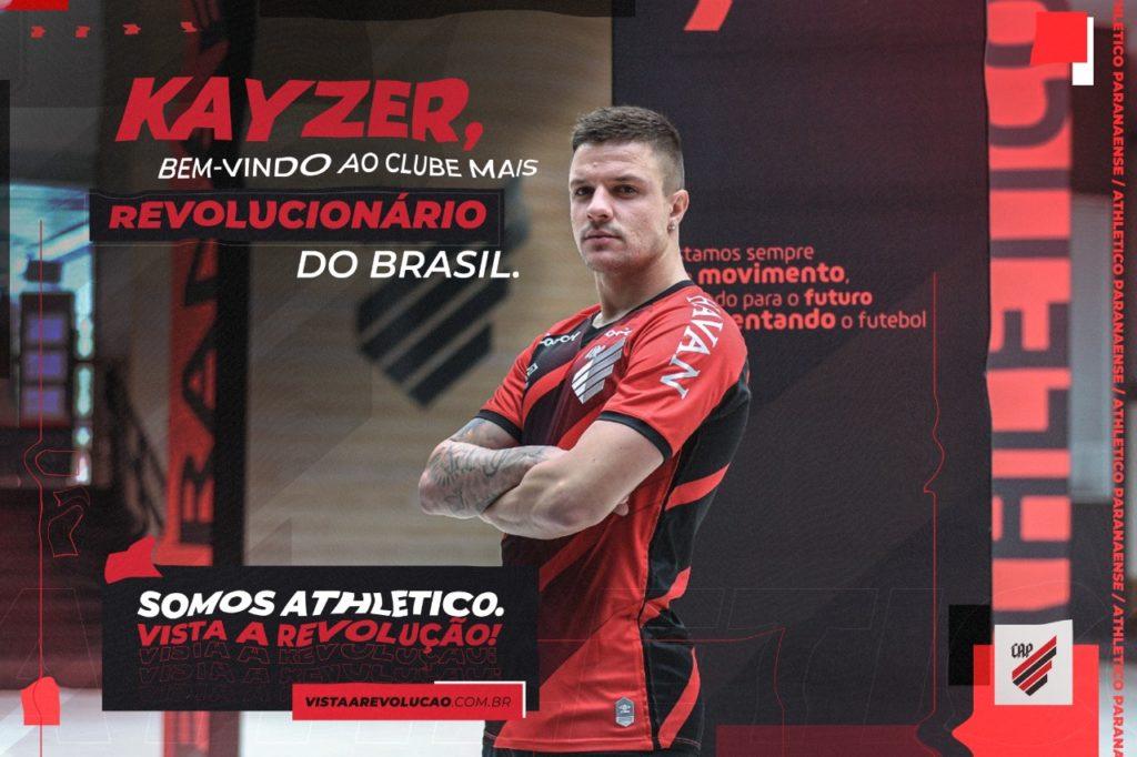 Alvo do Santos, Renato Kayzer acerta com o Athletico-PR