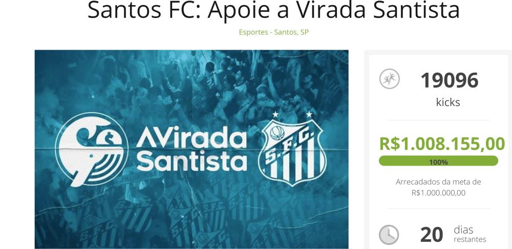 A Virada Santista, Santos