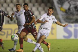 Jean Mota, Santos x Fluminense
