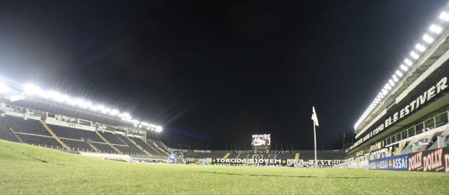 Jogo contra o Botafogo marca novo sistema de iluminação da Vila