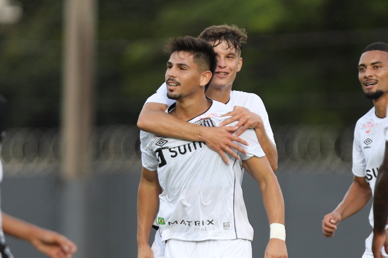 Anderson Ceará faz golaço e Santos goleia no Brasileiro de Aspirantes